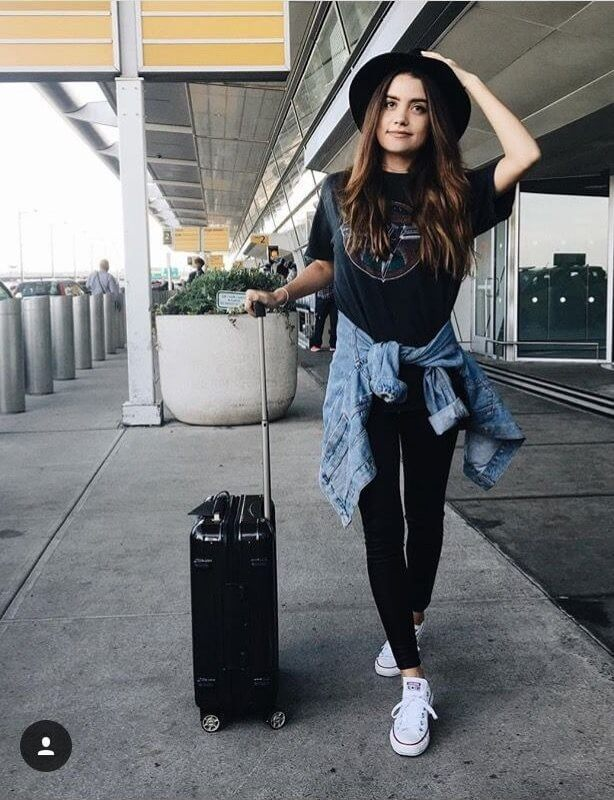 Denim and Black