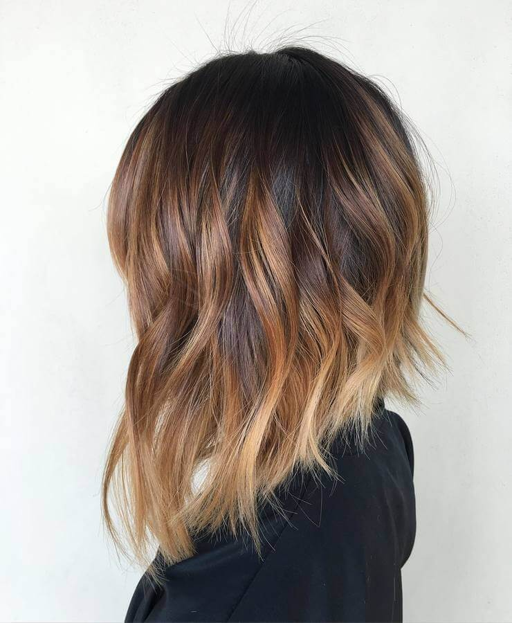 Asymmetric Copper Shade Lob