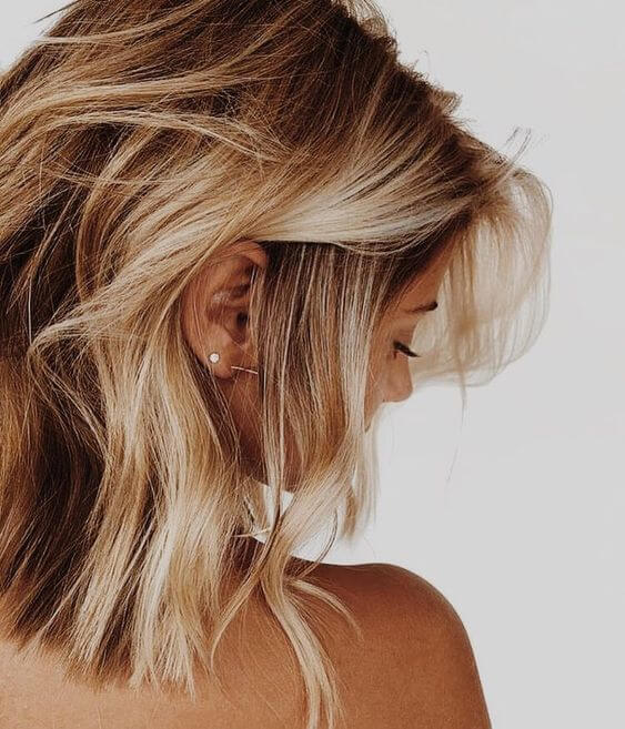 Honey Blonde Hairstyle