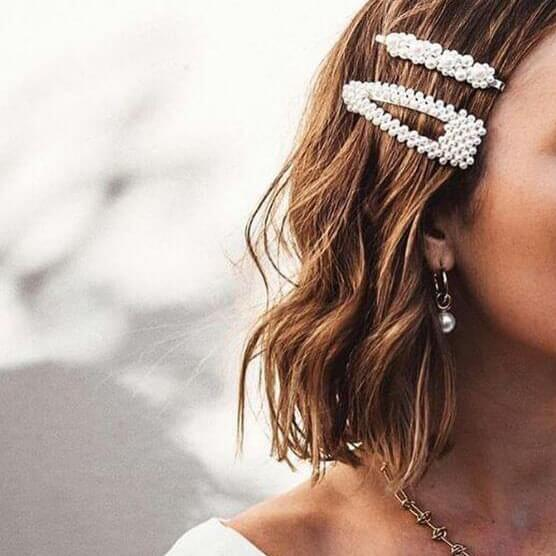 Pearly Accessories in Your Hair