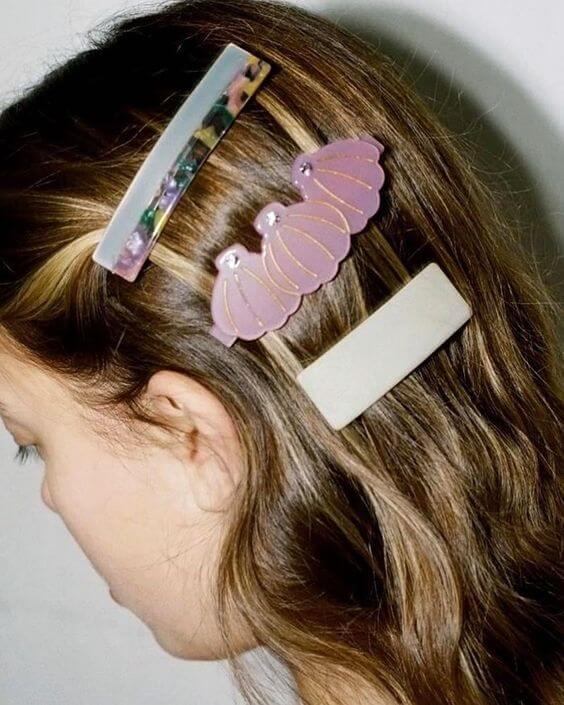 Seashell Inspired hair pins
