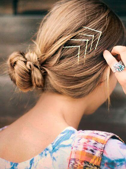 V-Shape Hair Pins