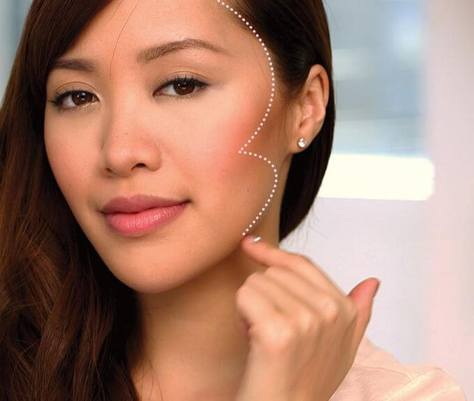 Contouring may be a way of flattering your best assets, however, don't overdo it.