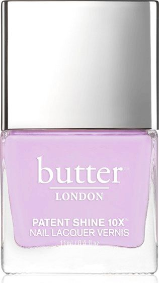 Mixed in with a bit of brightness, this lavender shade shows off a vibrant side of you.