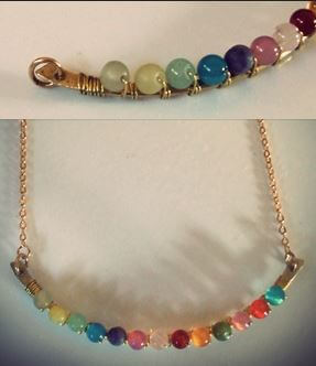 DIY perched harmonies necklace steps 4