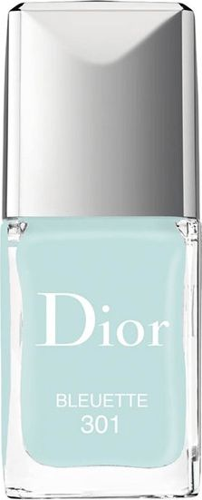 Show your nails off and exaggerate your look with this shade and glittery shimmer.