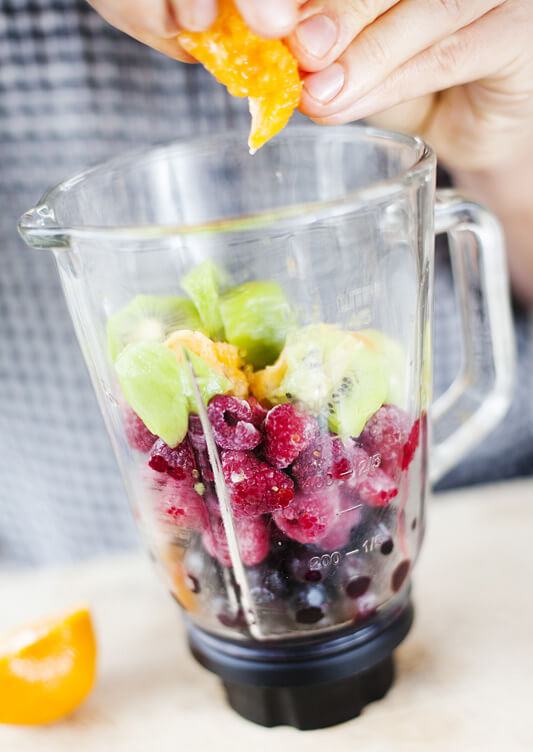 Super fruit smoothie