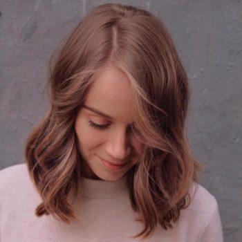Shoulder length layered hair