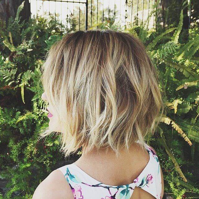 Best cut for women who wish to have their hair look thicker.