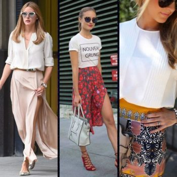 Pairing skirts and tops