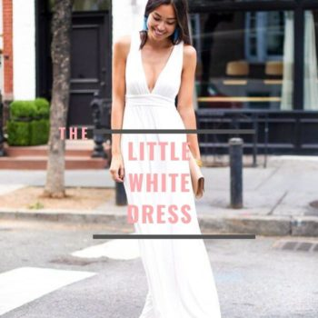 Little white dress outfit ideas