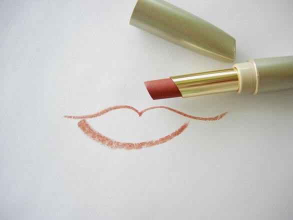 Lipstick with a smile