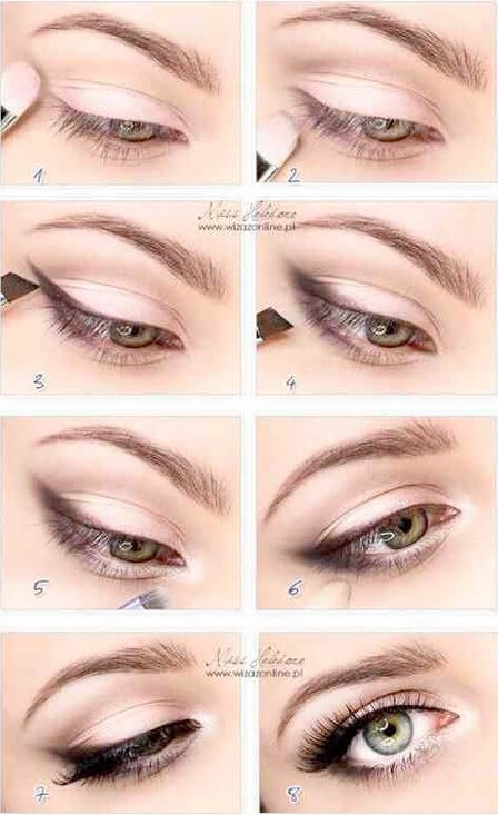 How to make smoky cat eye look