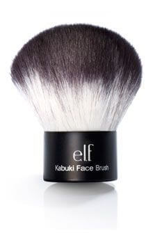 This big fluffy brush applies powder foundation with a flawless finish.