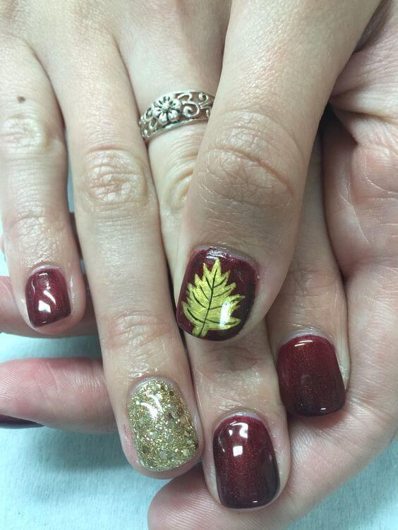 Wine is always a good idea -- especially on your nails.