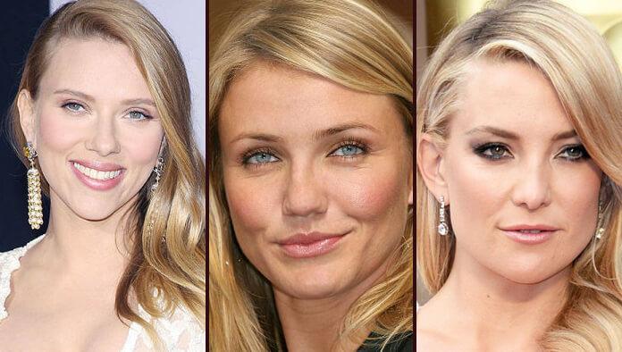 Celebrities with spring skin undertone