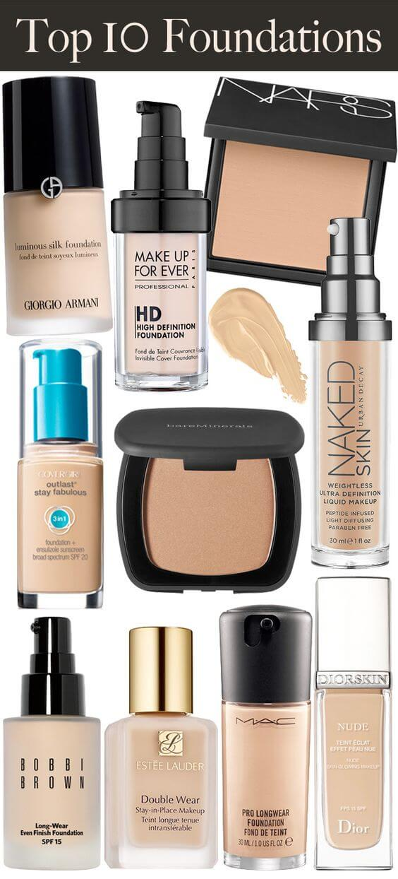 The makeup basics part 2 how to achieve a perfect for Different foundations