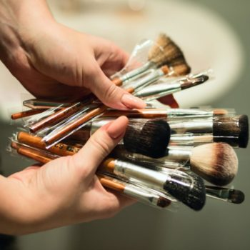 How to apply foundation: a collection of foundation and makeup brushes
