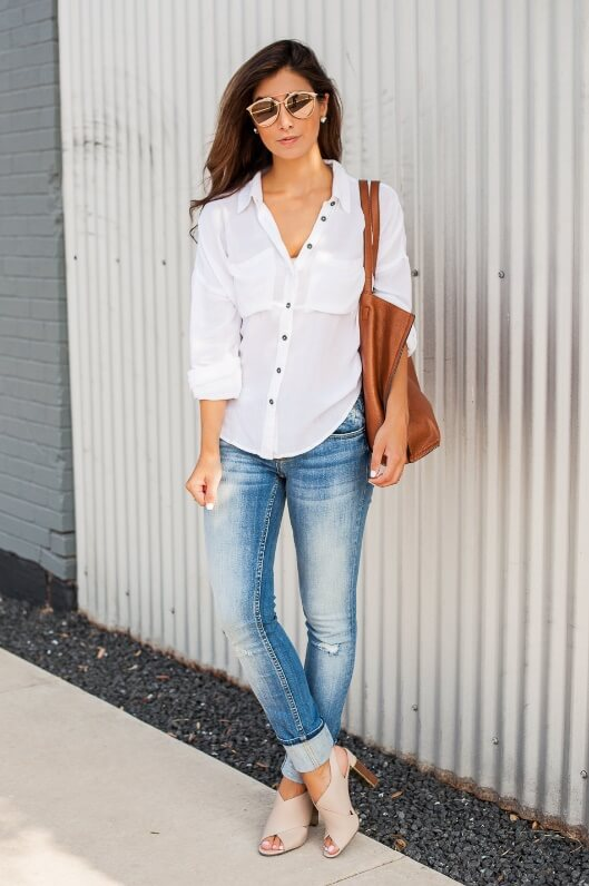 The Cuffing Season: 25 Stylish Outfits With Cuffed Jeans  BelleTag
