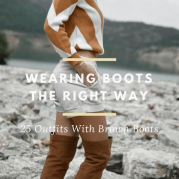 Outfits with brown boots