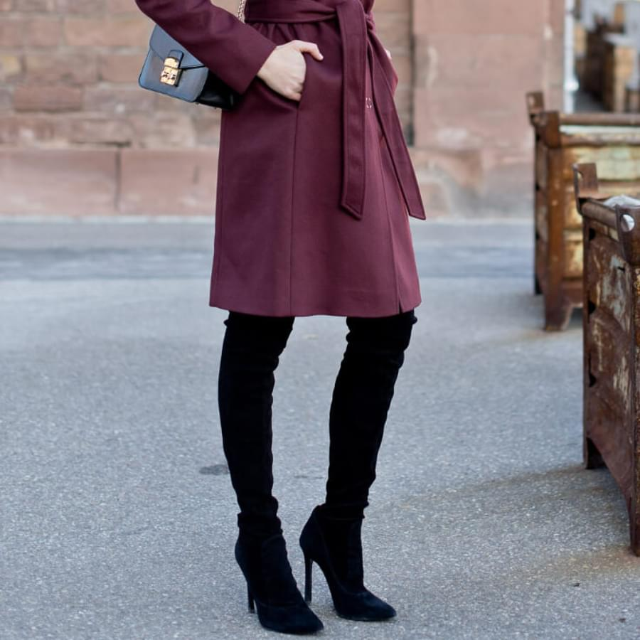 Shoes to wear with dress in winter