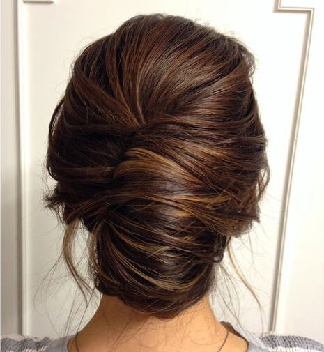 This is the go-to hairstyle for many proms, homecomings, or weddings.
