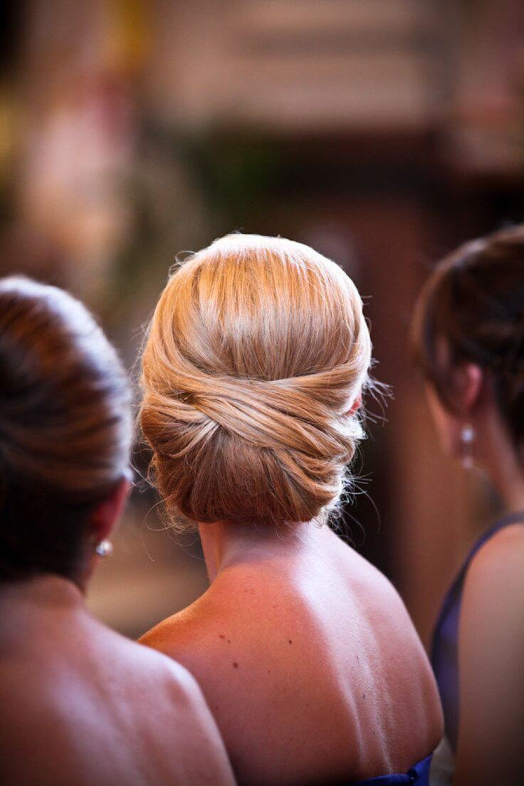 This spectacular French twist is wedding-worthy, whether you're a bride or a bridesmaid.