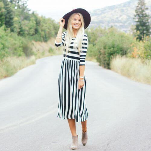 Modest And Fashionable Dressing
