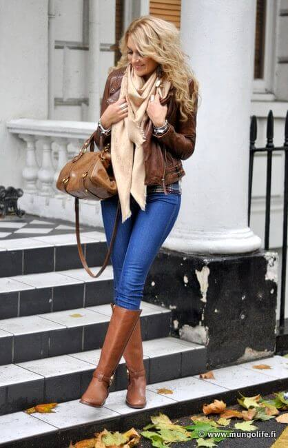 25 Outfits With Brown Boots How To Wear Boots The Right Way U2013 BelleTag