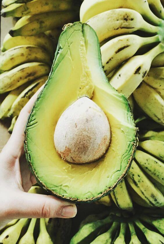 Avocados have tons of ingredients that your dry skin will love.