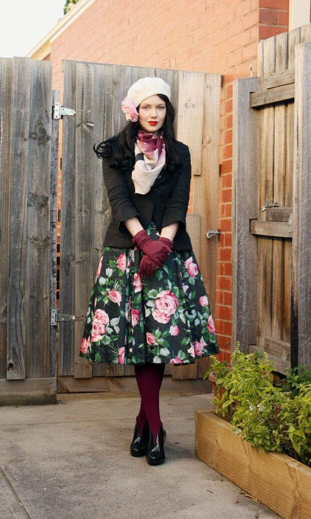 Vintage Looks A Collection Of Amazing Vintage Outfits For Winter U2013 BelleTag
