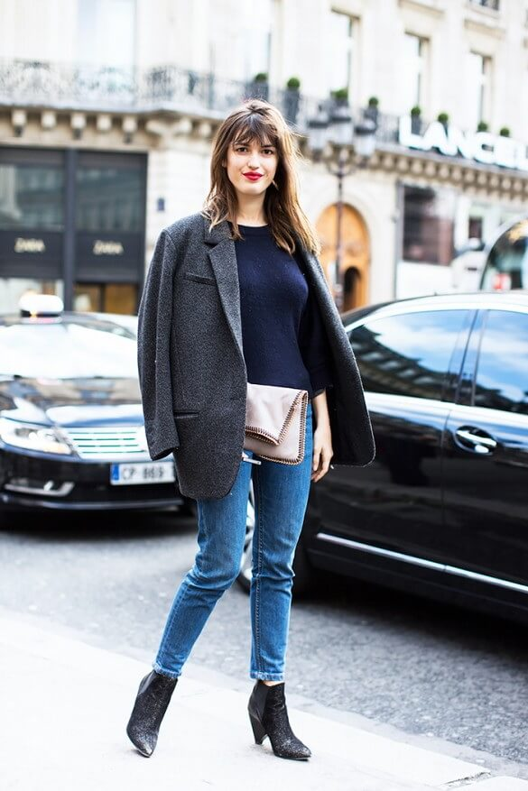Elegant How To Wear Ankle Boots With Skinny Jeans Leggings Or Shorts U2013 Tips For Older Women ...