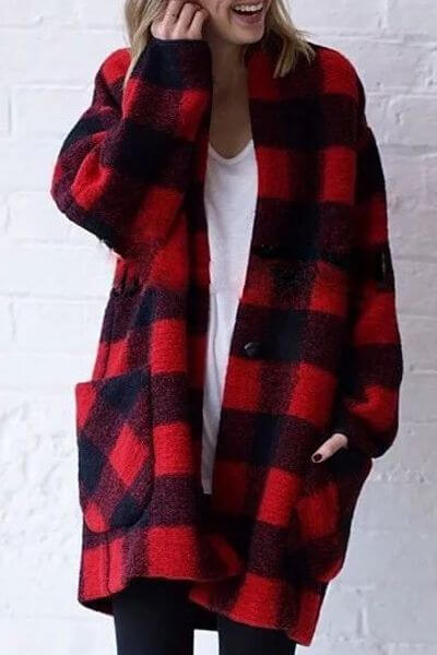 Get cosy with this oversize coat.