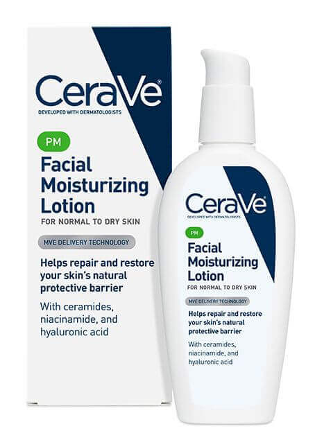 Thirsty skin will LOVE CeraVe's PM moisturizing formula