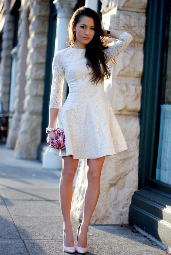 Fit and flare dresses are beautifully vintage!