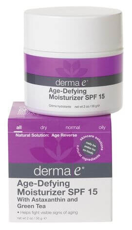 If you're looking for an eco-friendly moisturizer with SPF, you should give Derma E a try