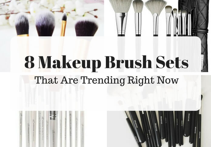8 makeup brush sets that are really popular right now