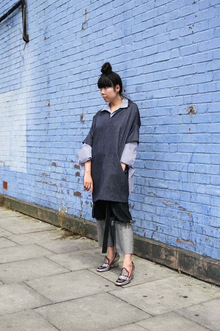 Fashion doesn't have to follow the norm – and this lady proves that!