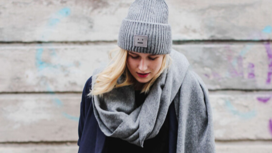 Winter outfit can be comfortable, cute and stylish at the same time