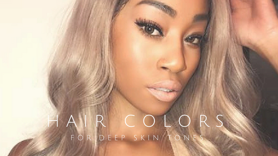 30 Hair Colors For Deep And Dark Skin Tones