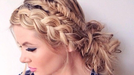 Amazing braided hairstyles for all winter holiday occasions. Whatever winter party you're attending, braids should always be perfect. Check out how to rock them.