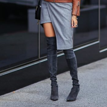 Work outfits with high boots