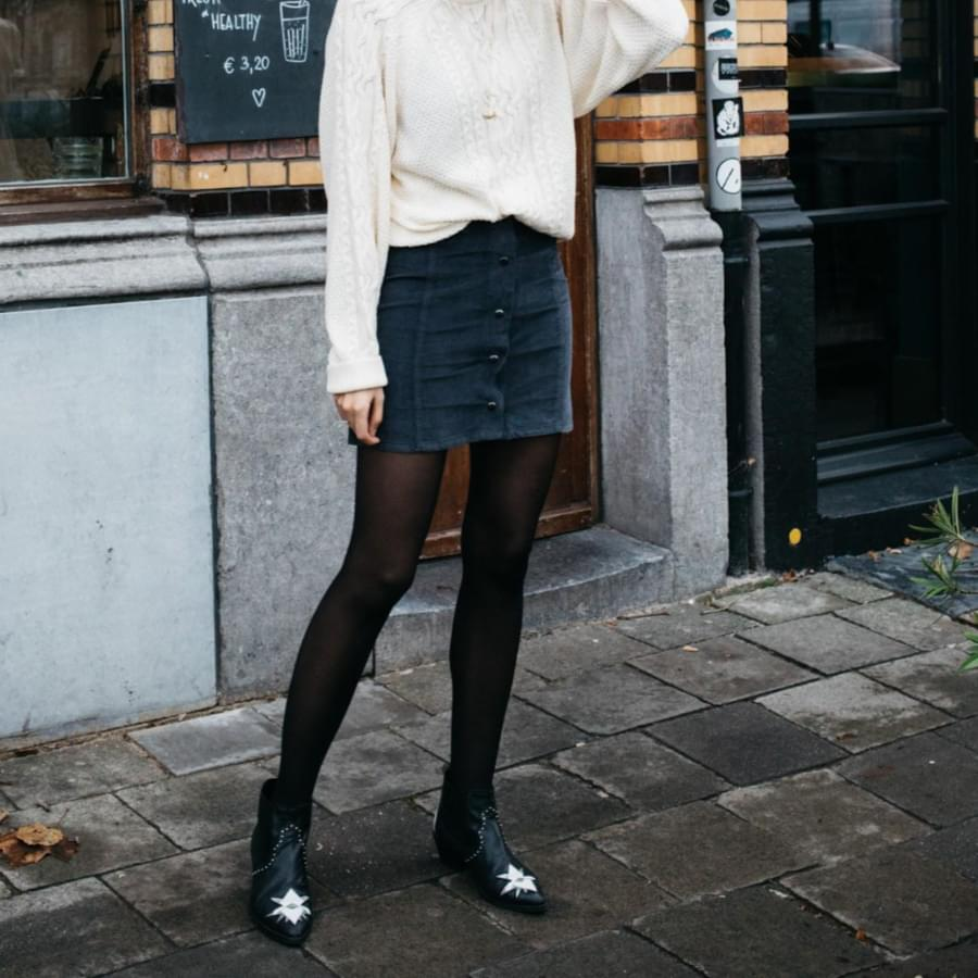 Find out the perfect winter skirt outfits ideas