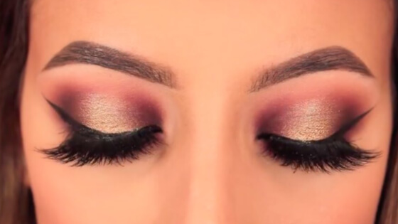 8 Winter Halo Eye Makeup Tutorials For