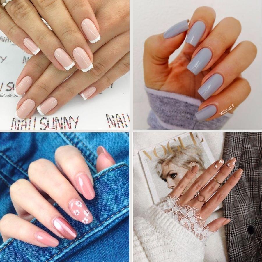 Natural nail designs
