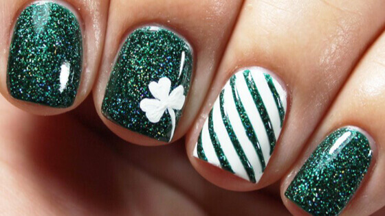 St. Patrick's day is celebrated among many people. Makeup and nail designs should also take part in the celebration, so it is time for you to get inspired.