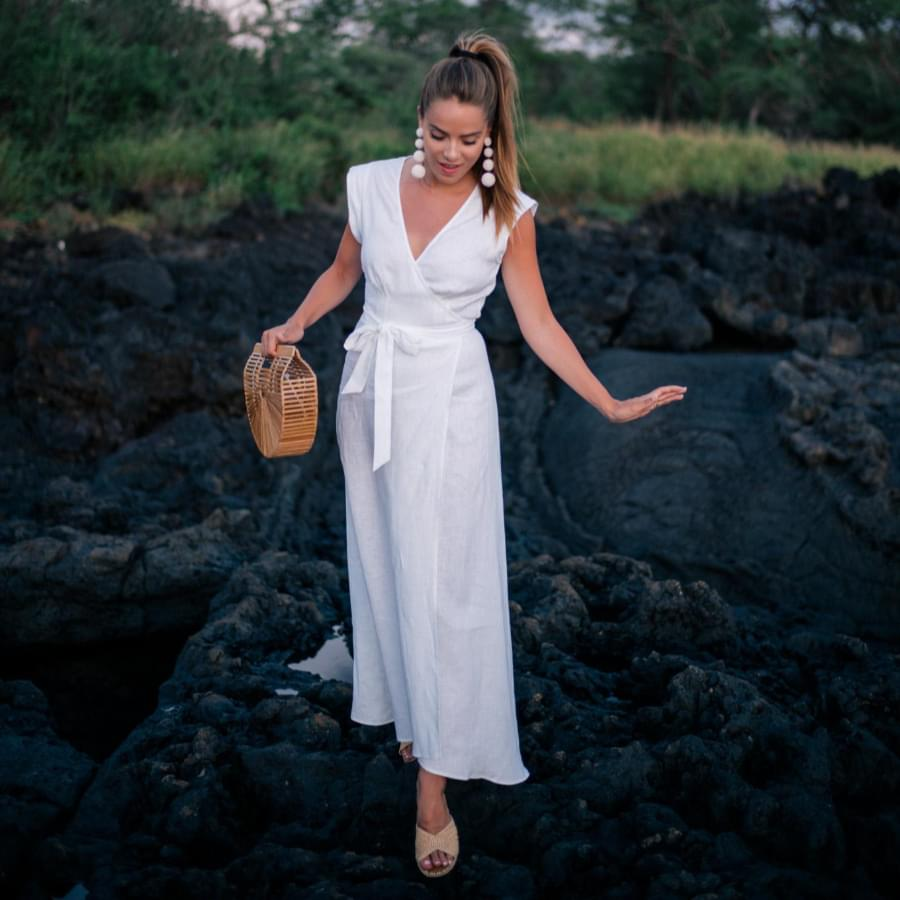 Boho linen dresses