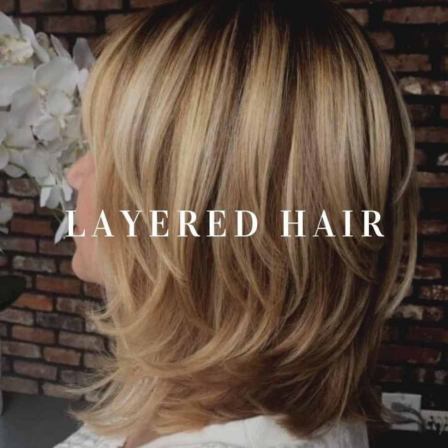 60 Ways To Wear Layered Hair In 2021 Belletag