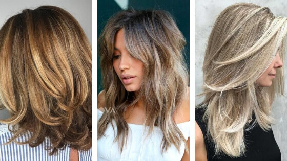 Layered hair is definitely one of the most popular hairstyles, among all women and man as well. Layers in your hair can provide you with more texture and usually gives thin hair volume.