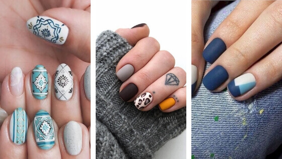 100 Most Beautiful Short Nails Designs for 2019 \u2013 BelleTag
